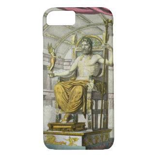 Coque iPhone 7 Statue de Jupiter dans un temple, du 'dei R de