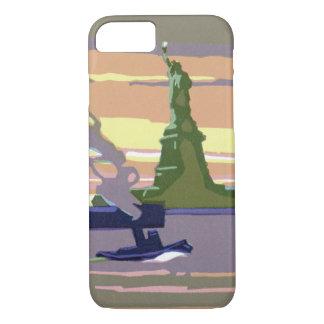 Coque iPhone 7 Statue de la liberté, New York City, voyage