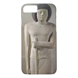 Coque iPhone 7 Statue de Sepa, vieux royaume (chaux peinte)