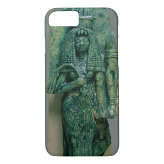 Coque iPhone 7 Statuette de la Reine Tiye, épouse d'Amenophis