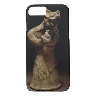 Coque iPhone 7 Statuette d'un démon Lion-Dirigé, Mésopotamie, c.5