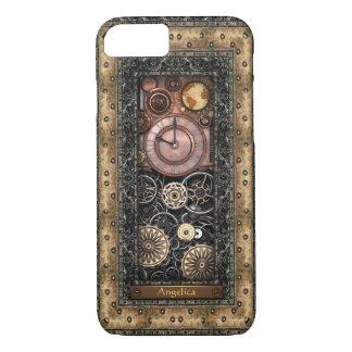 Coque iPhone 7 Steampunk élégant personnalisé