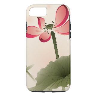 Coque iPhone 7 Style oriental Lotus