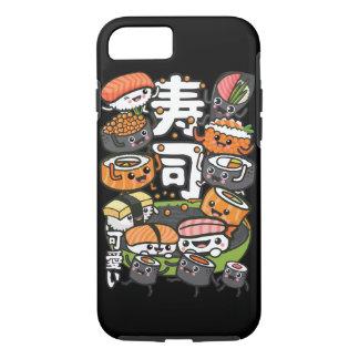 Coque iPhone 7 Sushi Kawaii