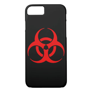 Coque iPhone 7 Symbole de Biohazard