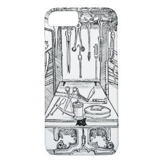 Coque iPhone 7 Table d'opération et instruments chirurgicaux, du