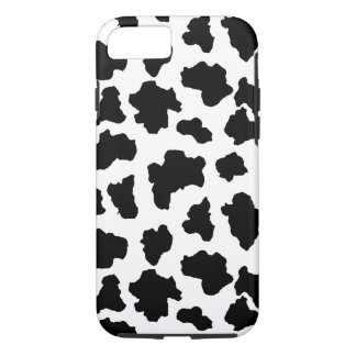 Coque iPhone 7 Taches repérées d'animal du Holstein de