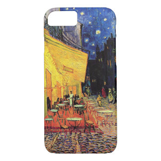 Coque iPhone 7 Terrasse de café de Van Gogh sur Place du Forum,