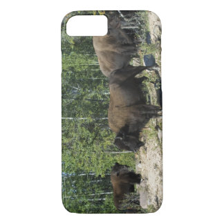 Coque iPhone 7 Territoires du nord-ouest. Ressortissant en bois