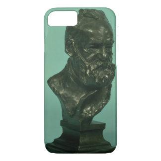 Coque iPhone 7 Tête de portrait de Victor Hugo (1802-85) (bronze)