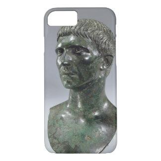 Coque iPhone 7 Tête en bronze d'un homme, romain, commencer du ęr