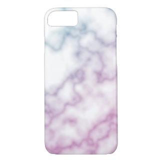 Coque iPhone 7 Texture de marbre colorée d'arrière - plan