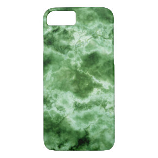 Coque iPhone 7 Texture de marbre verte