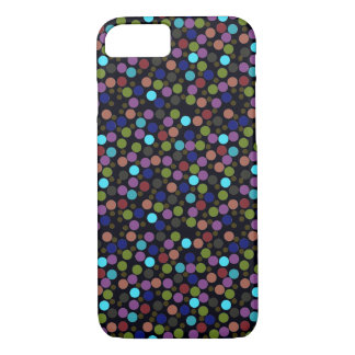 Coque iPhone 7 texture de pois