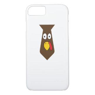 Coque iPhone 7 Thanksgiving de cravate de la Turquie pour le