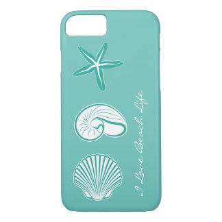 Coque iPhone 7 Thème de plage d'été