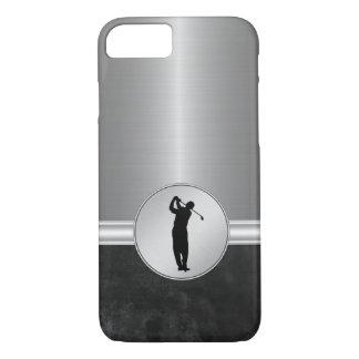 Coque iPhone 7 Thème du golf des hommes de luxe