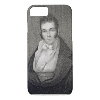 Coque iPhone 7 Thomas Say (1787-1834), gravé par Henry Hoppner