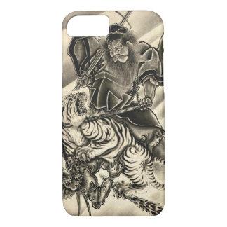 Coque iPhone 7 Tigre japonais vintage classique frais de