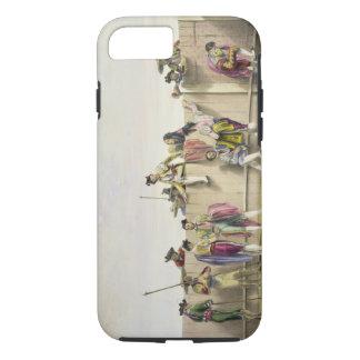 Coque iPhone 7 Toreros reposant entre les taureaux, 1865 (couleur