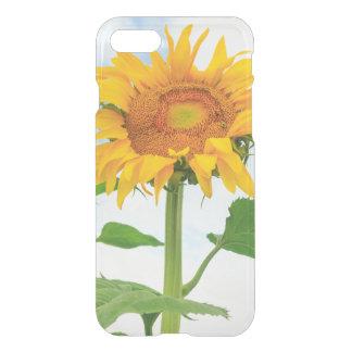 Coque iPhone 7 Tournesol, jardin de la communauté, lac moses, WA,