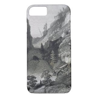 Coque iPhone 7 Transport en rivière de gelée, le 19 août 1833,