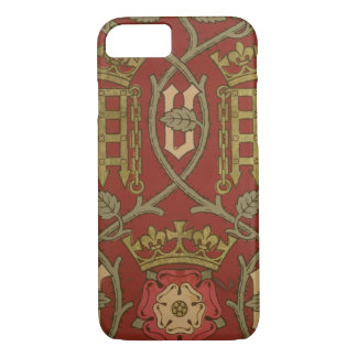 """Coque iPhone 7 """"Tudor s'est levé"""", papier peint de reproduction"""