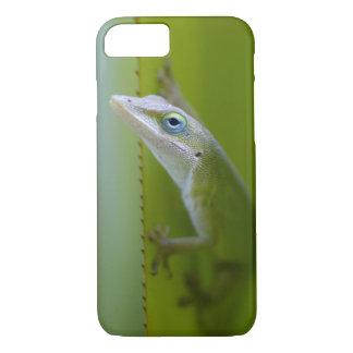 Coque iPhone 7 Un anole vert est un lézard arborescent