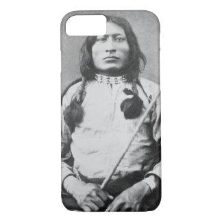 Coque iPhone 7 Un guerrier de Taureau, 1882 (photo de b/w)
