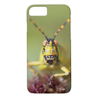 Coque iPhone 7 Un plan rapproché d'une sauterelle élégante