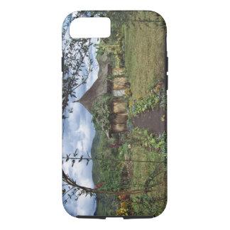 Coque iPhone 7 Un village dans les montagnes, Goroka, Papouasie