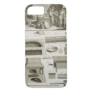 Coque iPhone 7 Une boulangerie et un équipement de cuisson, du