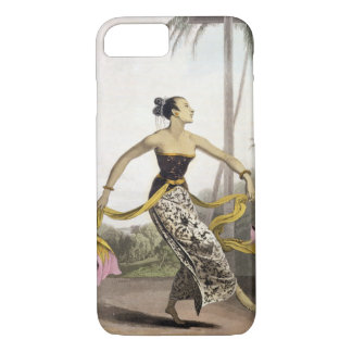 Coque iPhone 7 Une fille de Ronggeng ou de danse, plaquent 21 du