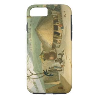 Coque iPhone 7 Une hutte de Boosh-Wannah, plaquent 7 'du paysage