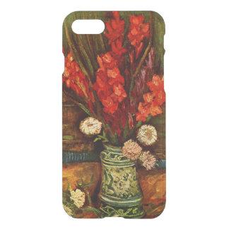 Coque iPhone 7 Van Gogh - vase avec Gladiolas rouge