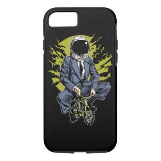 Coque iPhone 7 Vélo dans le cas dur de téléphone de lune