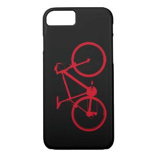 Coque iPhone 7 vélo rouge, faisant un cycle