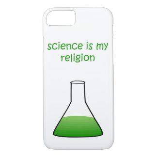 Coque iPhone 7 vert de la science