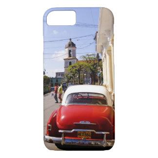 Coque iPhone 7 Vieille automobile américaine classique dans