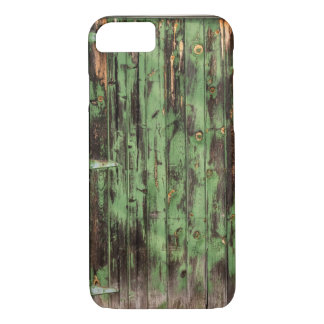 Coque iPhone 7 Vieille porte de grange rustique