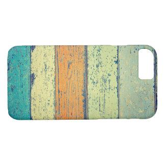Coque iPhone 7 Vieux bois peint