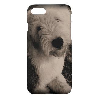 Coque iPhone 7 Vieux chien de berger anglais