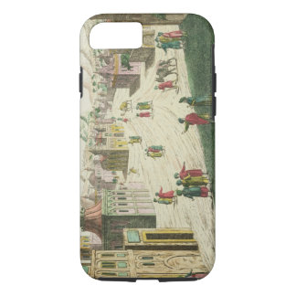Coque iPhone 7 Vieux et New Delhi (aquatinte)