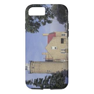 Coque iPhone 7 Vieux Mackinac phare de point des Etats-Unis,