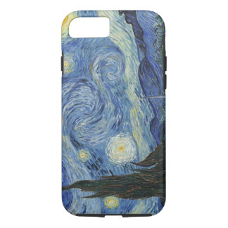Coque iPhone 7 Vincent van Gogh | la nuit étoilée, juin 1889