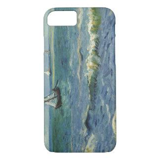 Coque iPhone 7 Vincent van Gogh - paysage marin près de Les