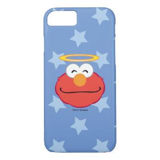 Coque iPhone 7 Visage de sourire d'Elmo avec le halo