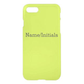 Coque iPhone 7 Visibilité jaune et élevée au néon Chartreuse