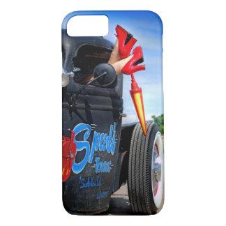 Coque iPhone 7 Vitesses remorquant le pin-up de Betty de