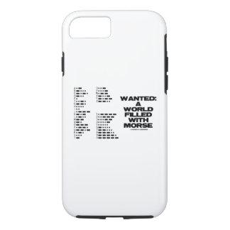 Coque iPhone 7 Voulu : Un monde rempli d'humour de code de geek
